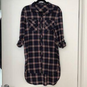 LF - Millau - Flannel Dress